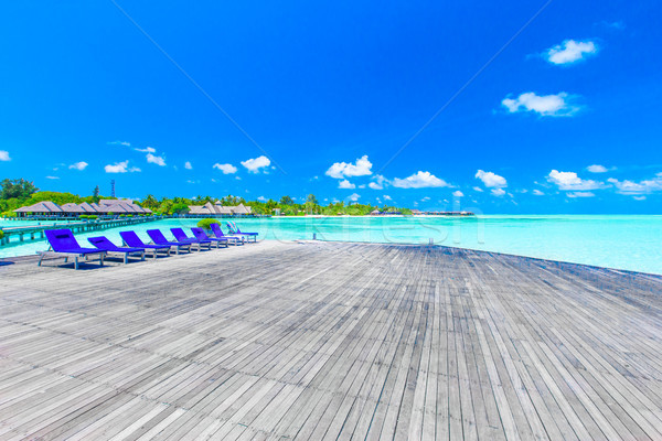 tropical beach in Maldives  Stock photo © Pakhnyushchyy