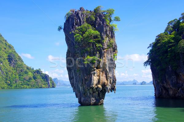 Eiland Thailand strand water natuur zee Stockfoto © Pakhnyushchyy