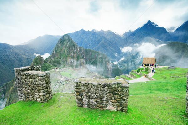Unesco dünya miras gökyüzü dağ Stok fotoğraf © Pakhnyushchyy