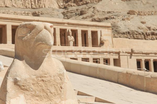 Tempel luxor afrika standbeeld geschiedenis sculptuur Stockfoto © Pakhnyushchyy