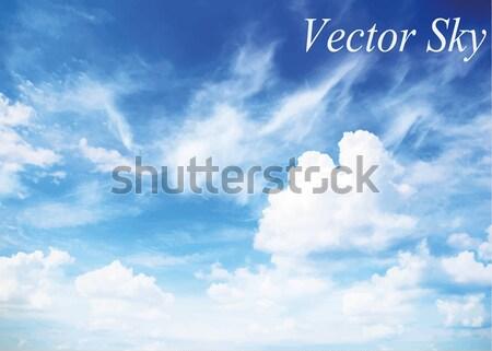 clouds Stock photo © Pakhnyushchyy