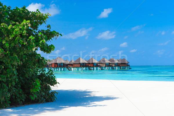 Güzel plaj su doğa manzara deniz Stok fotoğraf © Pakhnyushchyy