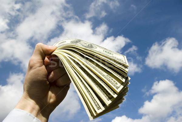Money in hand  Stock photo © Pakhnyushchyy