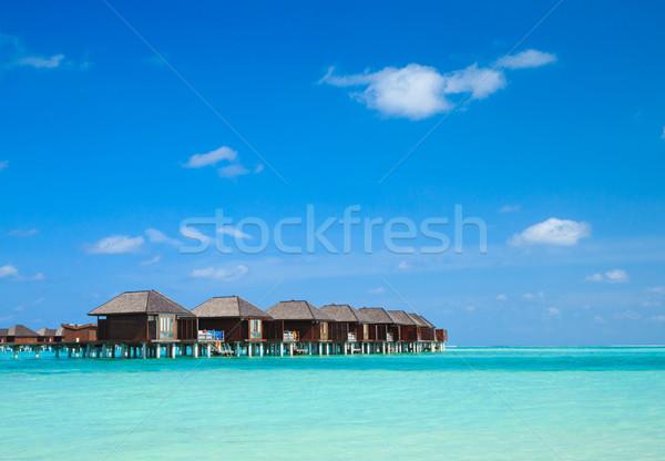 Bella spiaggia acqua natura mare estate Foto d'archivio © Pakhnyushchyy
