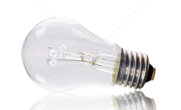 лампа электрических белый лампы власти электроэнергии Сток-фото © Pakhnyushchyy