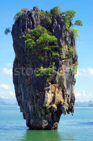 james bond island in thailand Stock photo © Pakhnyushchyy