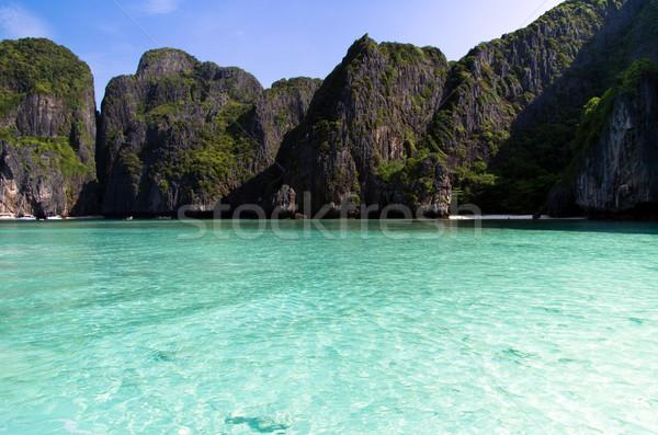 острове морем Краби воды пейзаж океана Сток-фото © Pakhnyushchyy