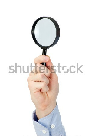 magnifying glass Stock photo © Pakhnyushchyy