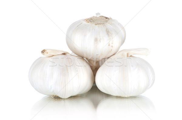 Stock photo: garlic