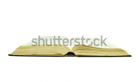 Bible isolé blanche religion lire Photo stock © Pakhnyushchyy