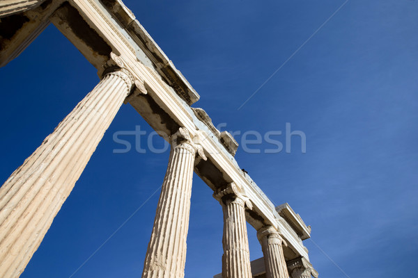 Parthenon on the Acropolis  Stock photo © Pakhnyushchyy