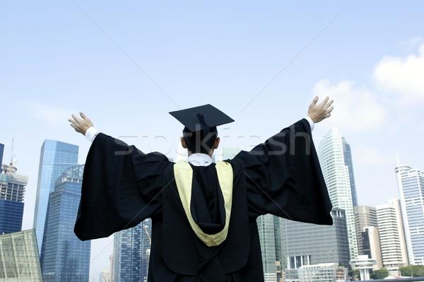 大学院 腕 都市 教育 中国語 ストックフォト © palangsi