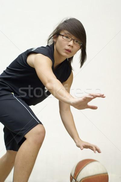健康 アジア ボール 背景 スポーツ ストックフォト © palangsi