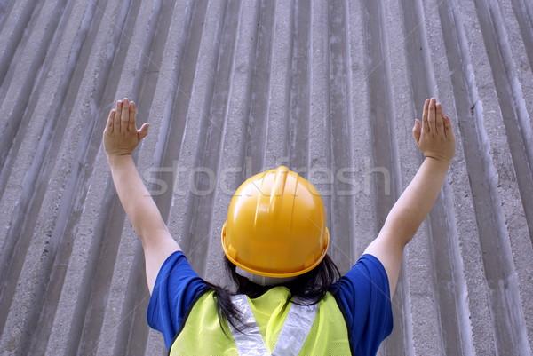アジア 建設 信号 停止 見える ストックフォト © palangsi