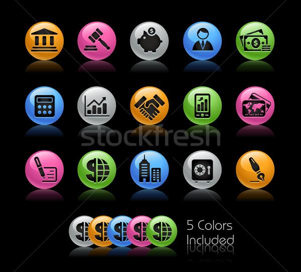 Zdjęcia stock: Działalności · finansów · żel · kolor · eps · pliku