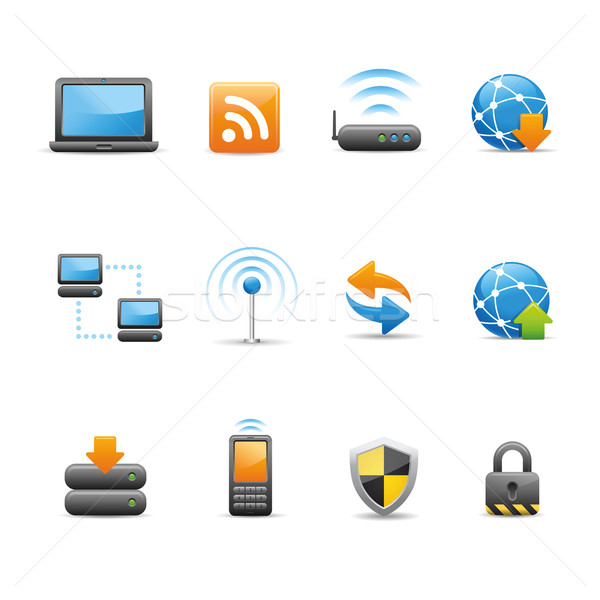 Web & Internet icons Stock photo © Palsur