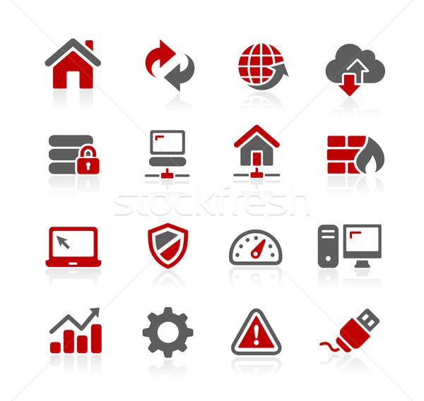 Web revelador vector iconos digital impresión Foto stock © Palsur