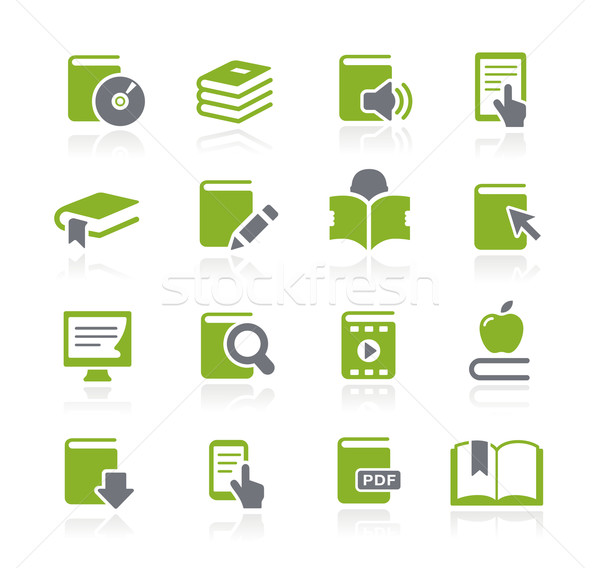 Book Icons -- Natura Series Stock photo © Palsur