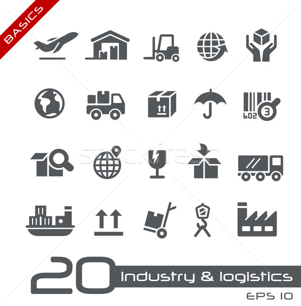 Industry and Logistics -- Basics Stock photo © Palsur