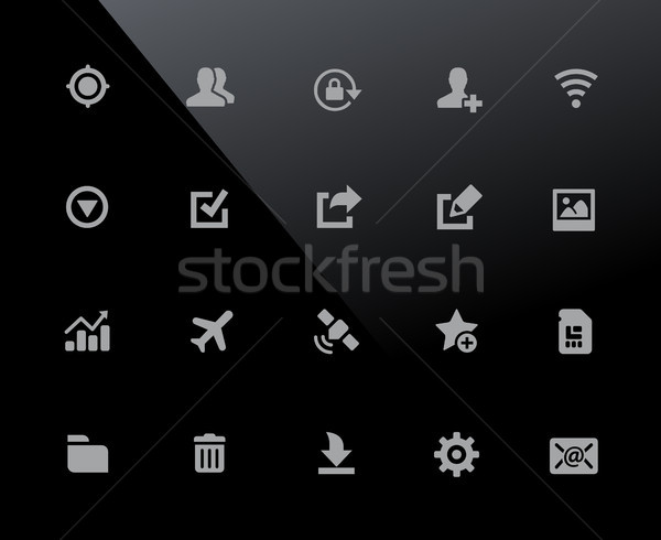 Web & Mobile Icons 2 // 32px Series Stock photo © Palsur