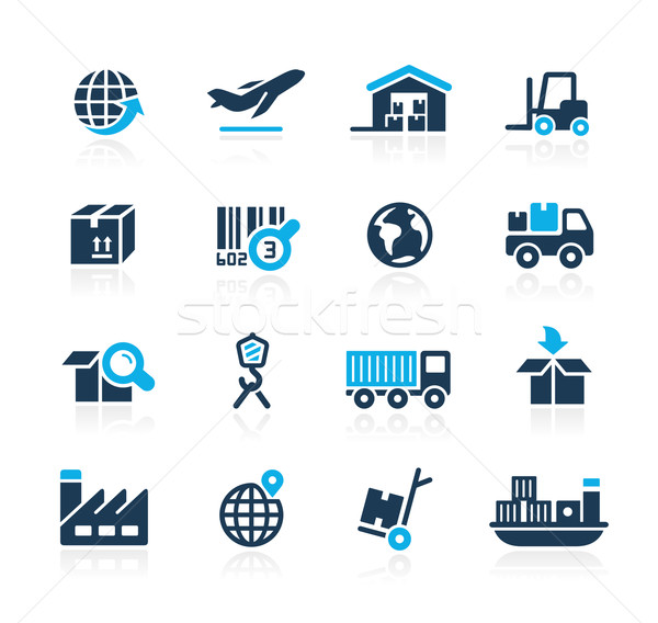 Industry and Logistics // Azure Series Stock photo © Palsur