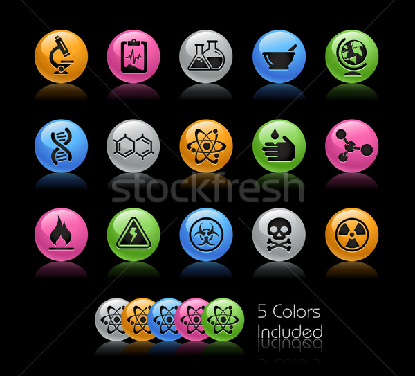 Stock photo: Science // Gel Color Series