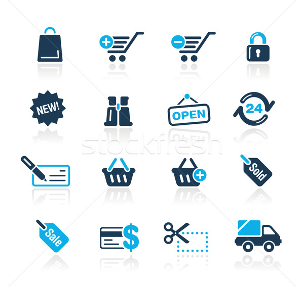 Shopping // Azure Series Stock photo © Palsur