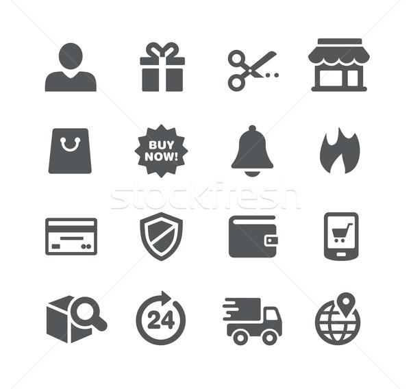 E-Shopping Icons - Utility Series Stock photo © Palsur
