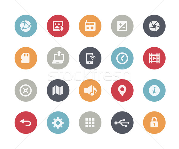 Web & Mobile Icons - 5 // Classics Series Stock photo © Palsur
