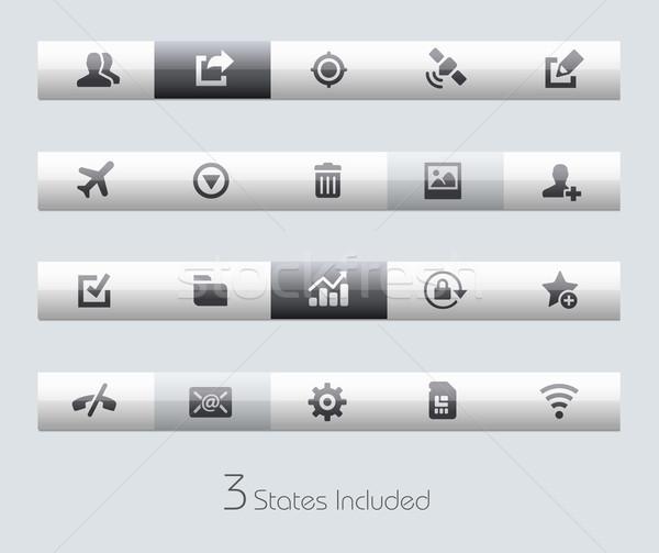 Web hareketli eps dosya düğmeler farklı Stok fotoğraf © Palsur