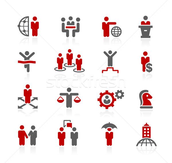 Business successo vettore icone digitale stampa Foto d'archivio © Palsur
