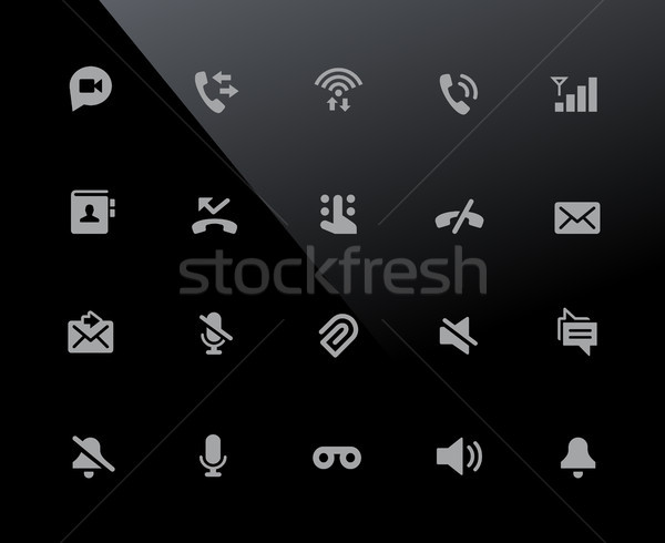 Web & Mobile Icons 1 // 32px Series Stock photo © Palsur