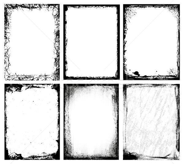 Foto d'archivio: Fotogrammi · set · diverso · abstract · design