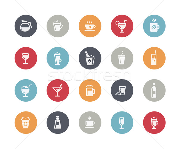 Drinks Icons // Classics Series Stock photo © Palsur