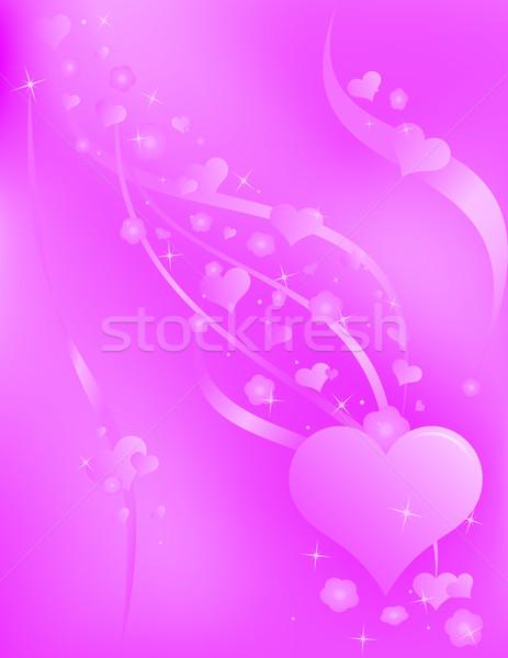 Amore romantica moda sfondo Foto d'archivio © Palsur