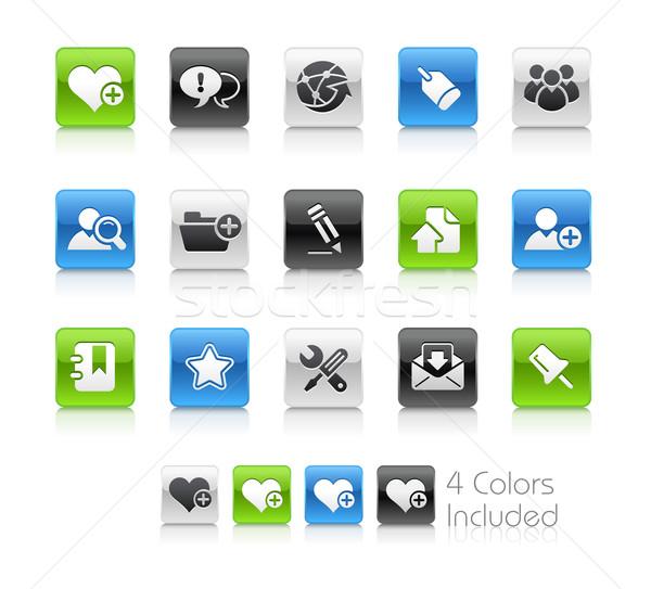 Stok fotoğraf: Internet · blog · temizlemek · eps · dosya · renk