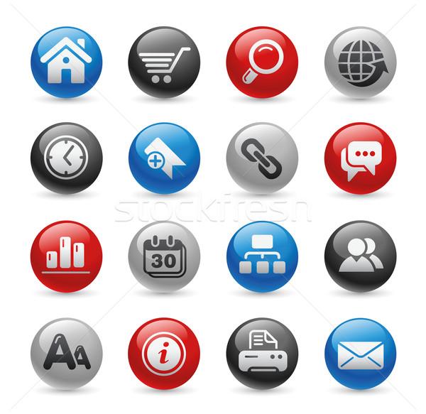 Интернет иконы гель профессиональных иконки сайт Сток-фото © Palsur