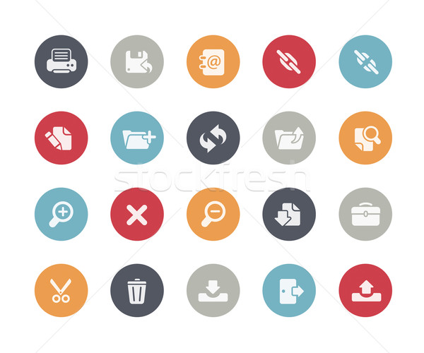 Interface Icons // Classics Series Stock photo © Palsur
