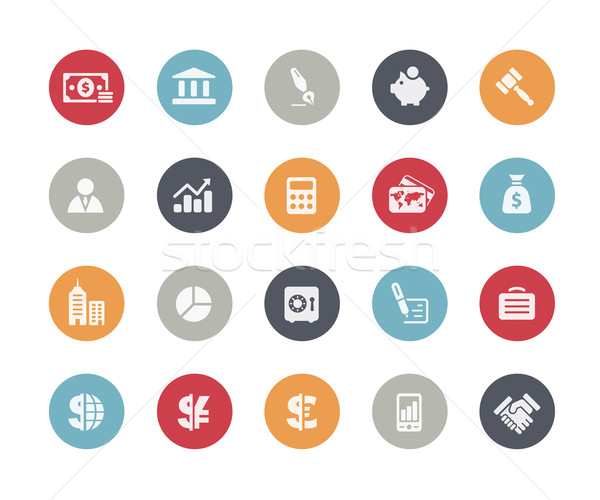 Business and Finance Icons // Classics Series Stock photo © Palsur