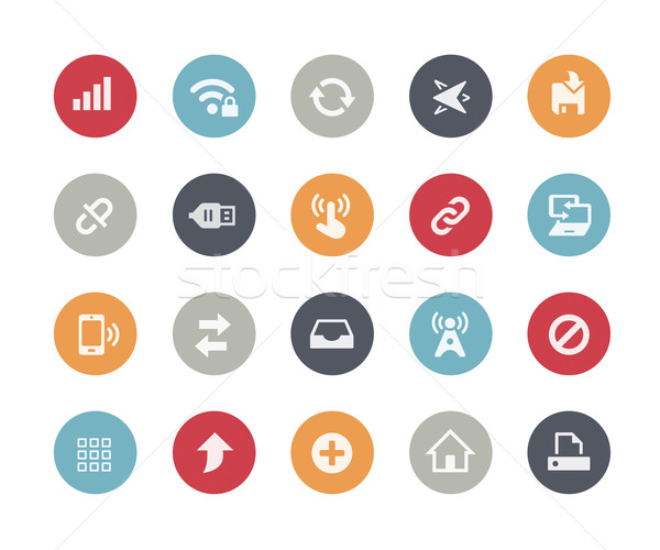 Web & Mobile Icons - 6 // Classics Series Stock photo © Palsur