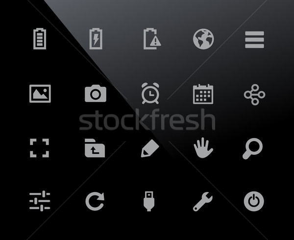 Web & Mobile Icons 3 // 32px Series Stock photo © Palsur