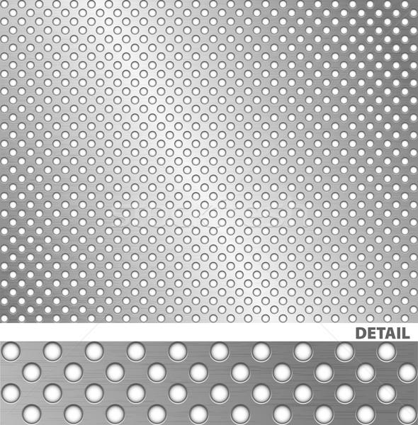 Superficie metallica eps file può foglio strato Foto d'archivio © Palsur