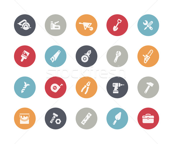 Tools Icons // Classics Series Stock photo © Palsur