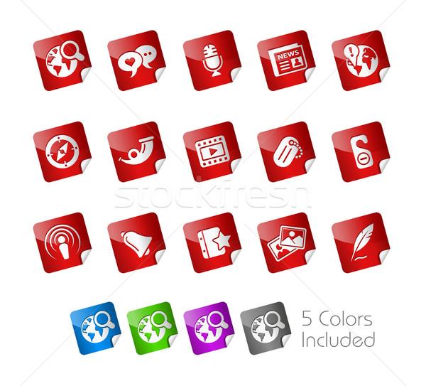 Stock photo: Social Media // Sticker Series