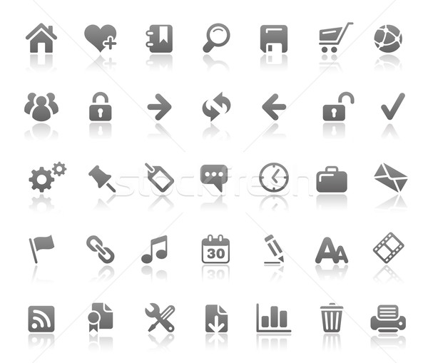 Website & Internet Icons // Basics Series  Stock photo © Palsur