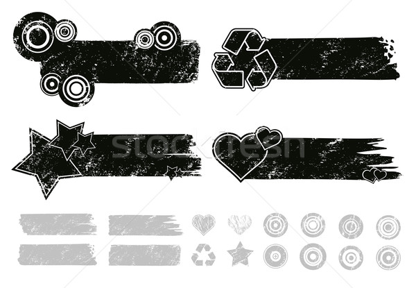 Grunge Banners Stock photo © Palsur
