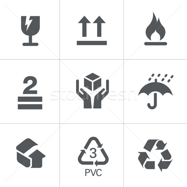 Packaging Symbols Stock photo © Palsur