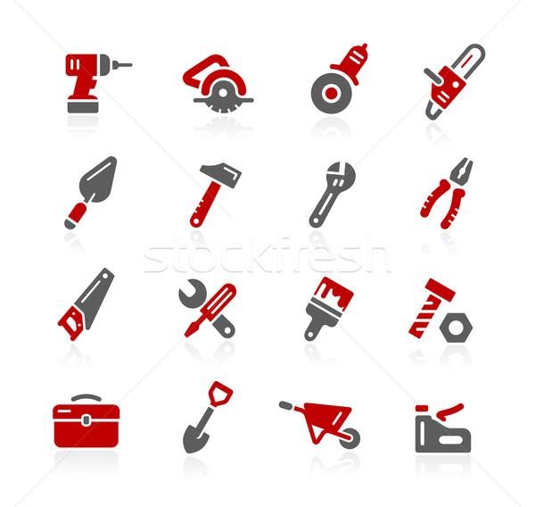 Foto stock: Herramientas · iconos · vector · digital · impresión · proyectos