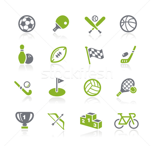 Sports Icons -- Natura Series Stock photo © Palsur