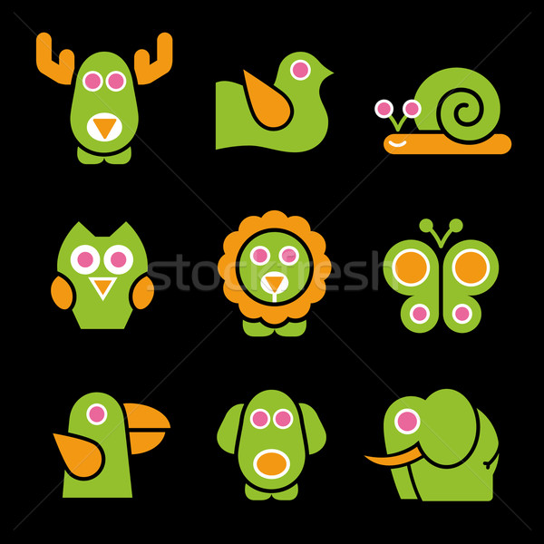 Stylized Animals  Stock photo © Palsur